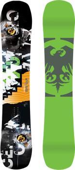 Never Summer Proto Slinger Hybrid Camber Snowboard, 153cm