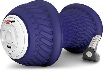 Pulseroll Peanut Vibrating Handheld Massage Ball Roller, Purple