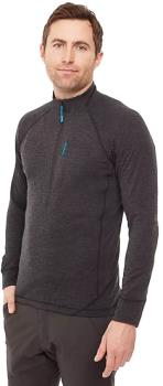 Rab Nexus Pull-On Half-zip Hiking Fleece, M Black