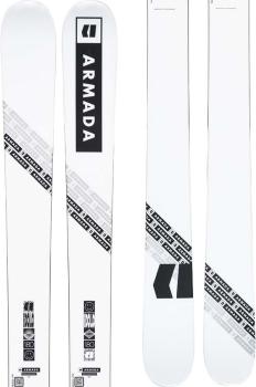 Armada Edollo Skis 164cm, White, Ski Only, 2022