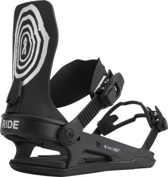 Ride C-6 Snowboard Bindings, M Scribble 2022