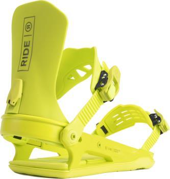 Ride C-8 Snowboard Bindings, L Lime 2022