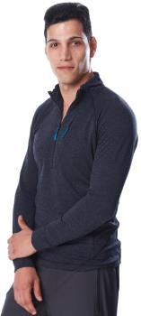 Rab Nexus Pull-On Half-Zip Hiking Fleece, XL Black