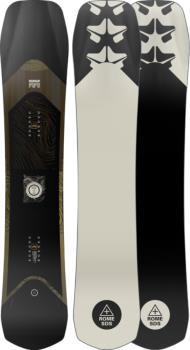 Rome Ravine Select Hybrid Camber Snowboard, 158cm 2022