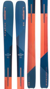Elan RipStick 88 Ski Only Skis, 188cm Blue/Orange 2022