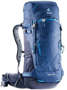 Deuter Rise 34+ Alpine Ski Backpack, 34L Steel/Navy