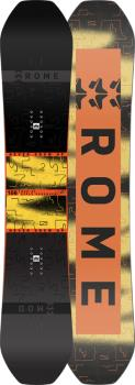Rome Stale Mod Hybrid Camber Snowboard, 157cm Wide 2021