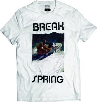 Capita Spring Break Twin T-Shirt, L White