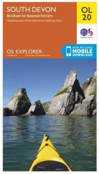 Ordnance Survey Explorer OL20 South Devon Area Map