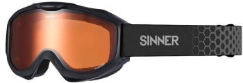 Sinner Lakeridge Orange Ski/Snowboard Goggles, M Matte Black