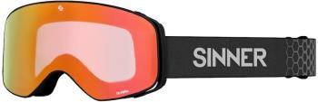 Sinner Olympia Full Orange Ski/Snowboard Goggles, L Matte Black
