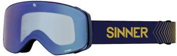 Sinner Olympia Full Blue Ski/Snowboard Goggles, L Matte Dark Blue