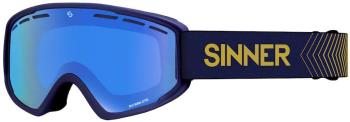 Sinner Batawa OTG Full Blue Snowboard/Ski Goggles L Matte Dark Blue