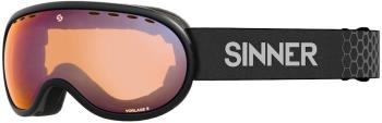 Sinner Vorlage S Full Orange Ski/Snowboard Goggles S Matte Black