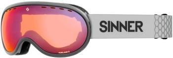 Sinner Vorlage S Full Red Ski/Snowboard Goggles S Matte Light Grey