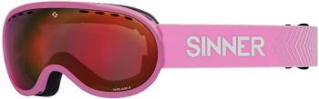 Sinner Vorlage S Full Red Ski/Snowboard Goggles S Matte Pink