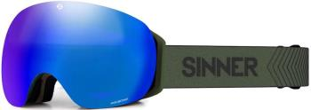 Sinner Avon OTG Blue Sintrast Ski/Snowboard Goggles M Moss Green