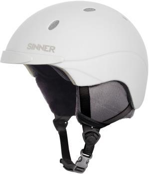 Sinner Titan Ski/Snowboard Helmet, L Matte White