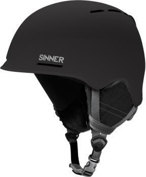 Sinner Fortune Ski/Snowboard Helmet L Matte Black