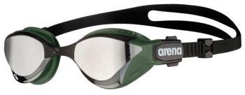 arena Cobra Tri Swipe Mirrored Silver Swim Goggles, Silver/Army