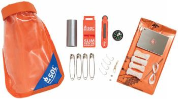 SOL Scout Compact Waterproof Outdoor Survival Kit