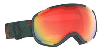 Scott Faze Ll LS Red Chrome Snowboard / Ski Goggles, M/L Sombre Green