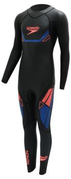 Speedo Fastskin Xenon Thin Performance Wetsuit, ST Black/Amparo Blue