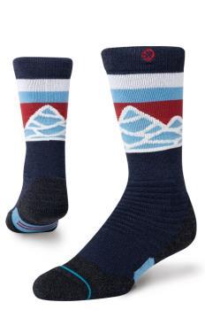 Stance Snow Merino Wool Kids Ski/Snowboard Socks, L Spillway
