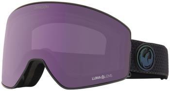 Dragon PXV2 LumaLens Violet Snowboard/Ski Goggles, M/L Split