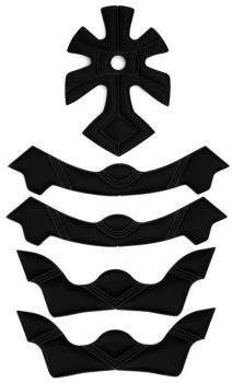 Sandbox Legend Low Rider Full Fit Helmet Pads, Black