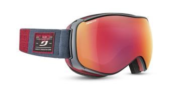 Julbo Starwind Photo Reactiv 2-3 Snowboard/Ski Goggles, S/M Grey/Red 2021