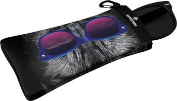 Gogglesoc SunnySOC Sunglasses Lens Cover/Case, One Size Bad Kitty