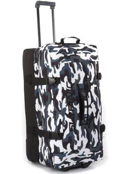 Surfanic Maxim 100L Roller Bag Wheeled Luggage Tundra Camo