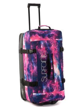 Surfanic Maxim 100L Roller Bag Wheeled Luggage Pink Stardust