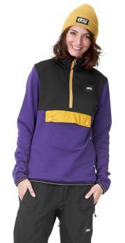 Picture Gates Pullover Women's Polartec Fleece, S Black/Purple