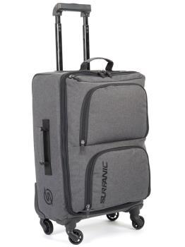 Surfanic Maxim 40L Overhead Carry-On Wheeled Luggage Storm Grey