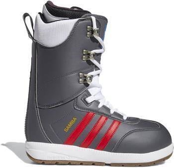 Adidas Samba ADV Snowboard Boots UK 10.5 Grey Five/Scarlet/Gold 2021