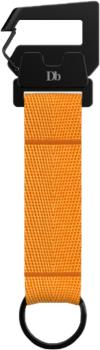 Douchebags The Hook Keychain Keyring, 15cm Orange
