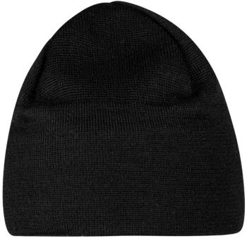Mammut Tweak Beanie Fleece Lined Wool Hat, One Size Black-Titanium