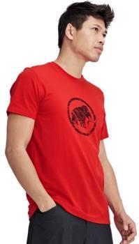 Mammut Logo T-Shirt Short Sleeve Climbing Tee, S Magma