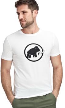 Mammut Logo T-Shirt Short Sleeve Climbing Tee, S Bright White PRT1