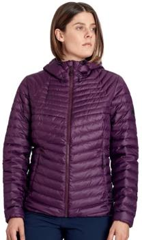 Mammut Convey Down Insulated Women's Hooded Jacket, M Blackberry