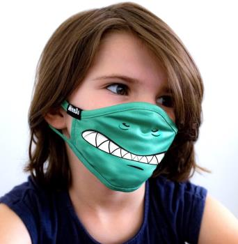 WeeDo Character Kid's Protective Reusable Face Mask, L Monster