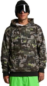Volcom Adult Unisex Jla Pullover Fleece Ski/Snowboard Hoody, L Army