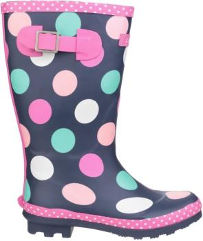 Cotswold Dotty Junior Pull On Girls' Wellies, UK Child 12 Multi