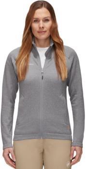 Mammut Nair Mid Layer Jacket Women's Fleece, M Granit Mélange