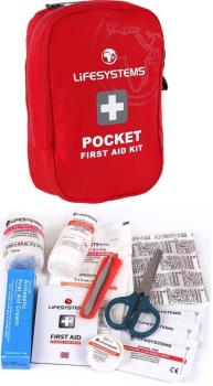 Lifesystems Pocket First Aid Kit Travel/Outdoor Medical Pack 23 items