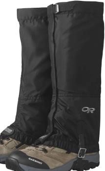 Outdoor Research Rocky Mountain High Women's Boot Gaiters, L Black