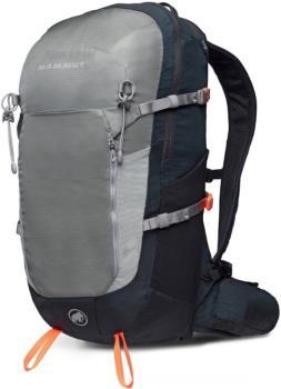 Mammut Lithium Zip Hiking Backpack/Rucksack, 24L Granit/Black