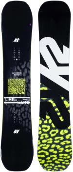 K2 Lime Lite Women's Hybrid Camber Snowboard, 149cm 2021